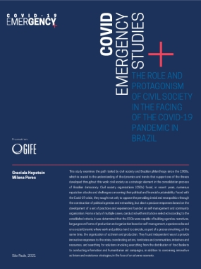 The role and protagonism of civil society in the facing of the Covid-19 pandemic in Brazil