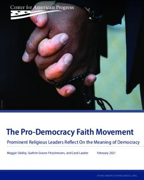 The Pro-Democracy Faith Movement